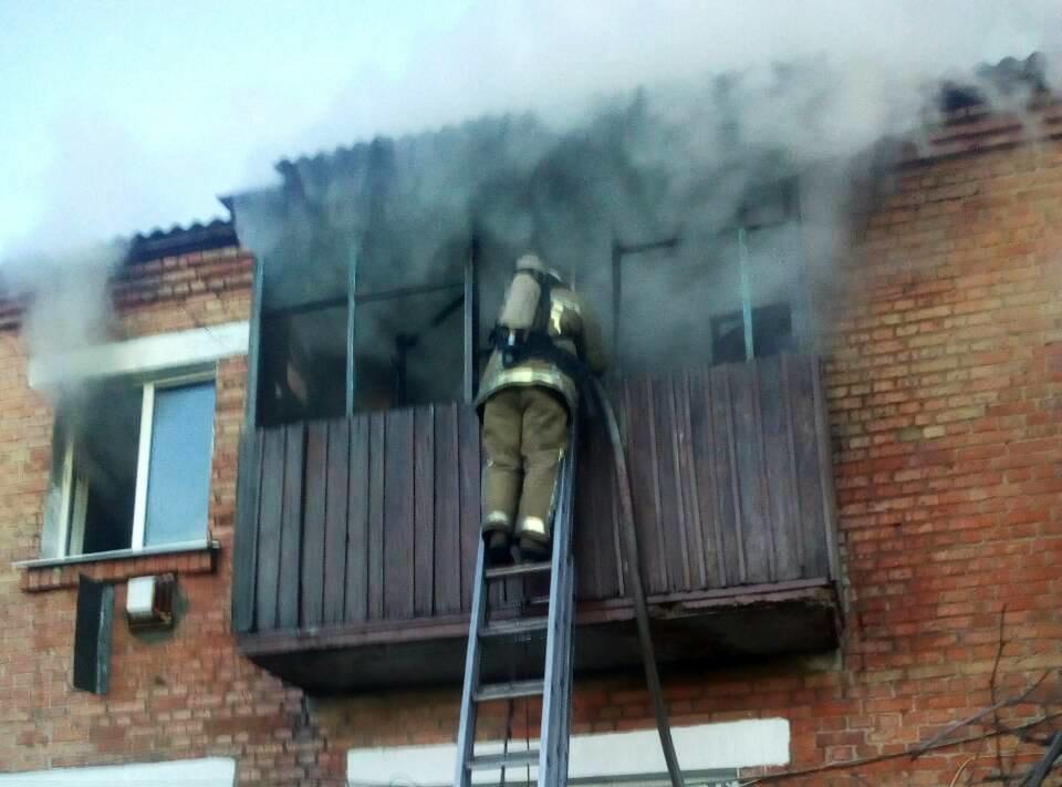 На Білоцерківщині під час пожежі загинула 61-річна жінка, її чоловіка госпіталізували