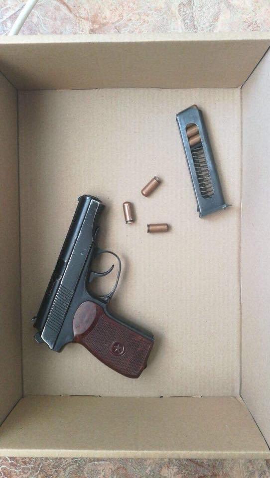 У Білій Церкві озброєний молодий чоловік намагався пограбувати вночі продуктовий магазин