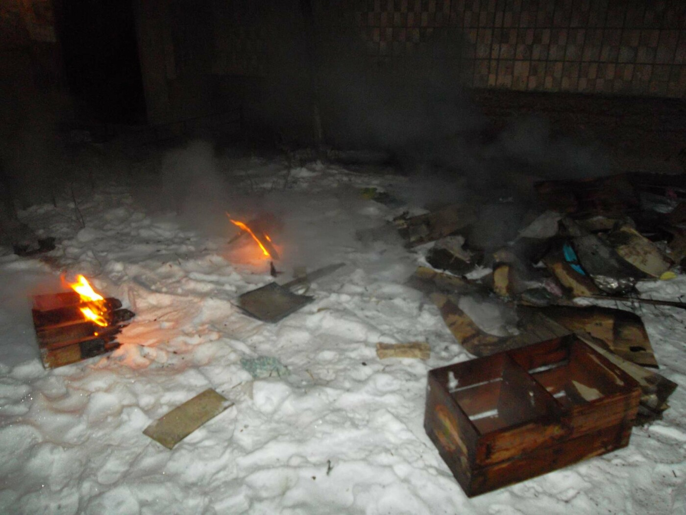 У Білій Церкві по вулиці Василя Стуса горіла трикімнатна квартира