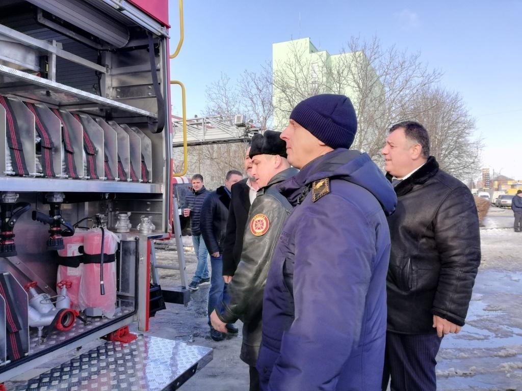 Білоцерківські рятувальники отримали новий автомобіль