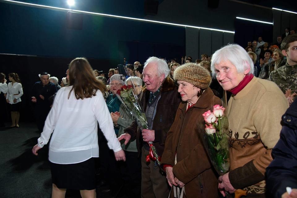 У Білій Церкві на прем'єрі фільму про Голокост були присутні очевидці трагедії  , фото-1