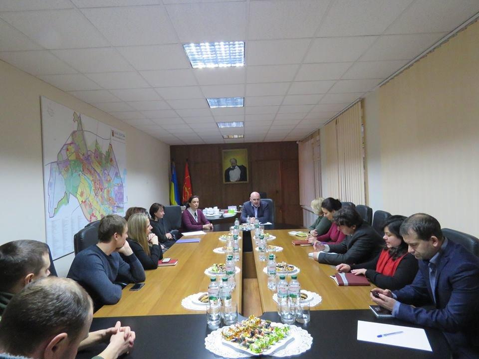 Зустріч міського голови Геннадія Дикого з представниками громадськості