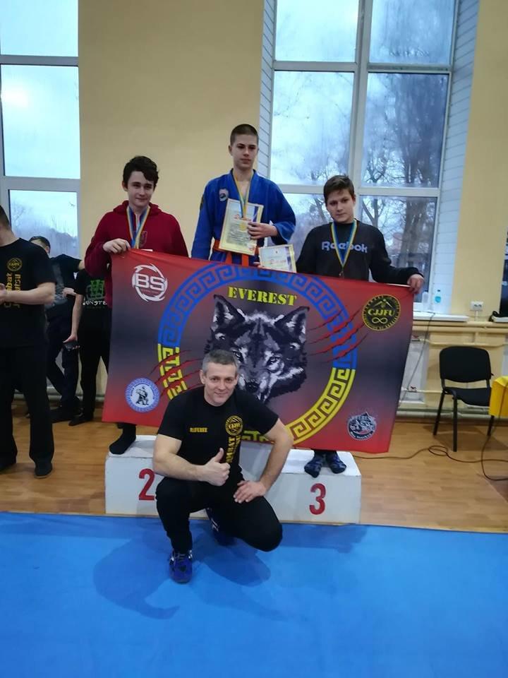 Білоцерківські спортсмени здобули Кубок чемпіонату з Комбат Дзю-Дзюцу