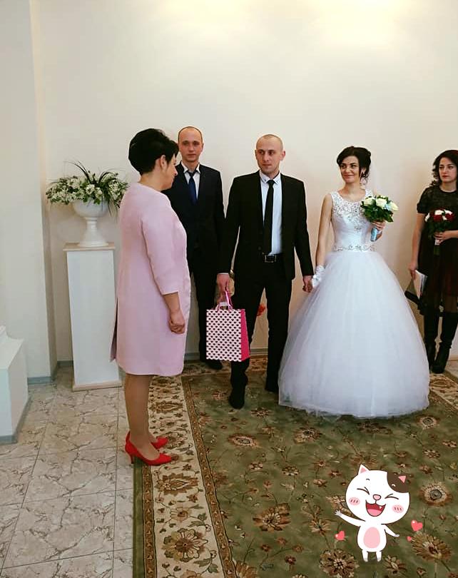 Весільний бум: у день закоханих в Білій Церкві побралися 25 пар