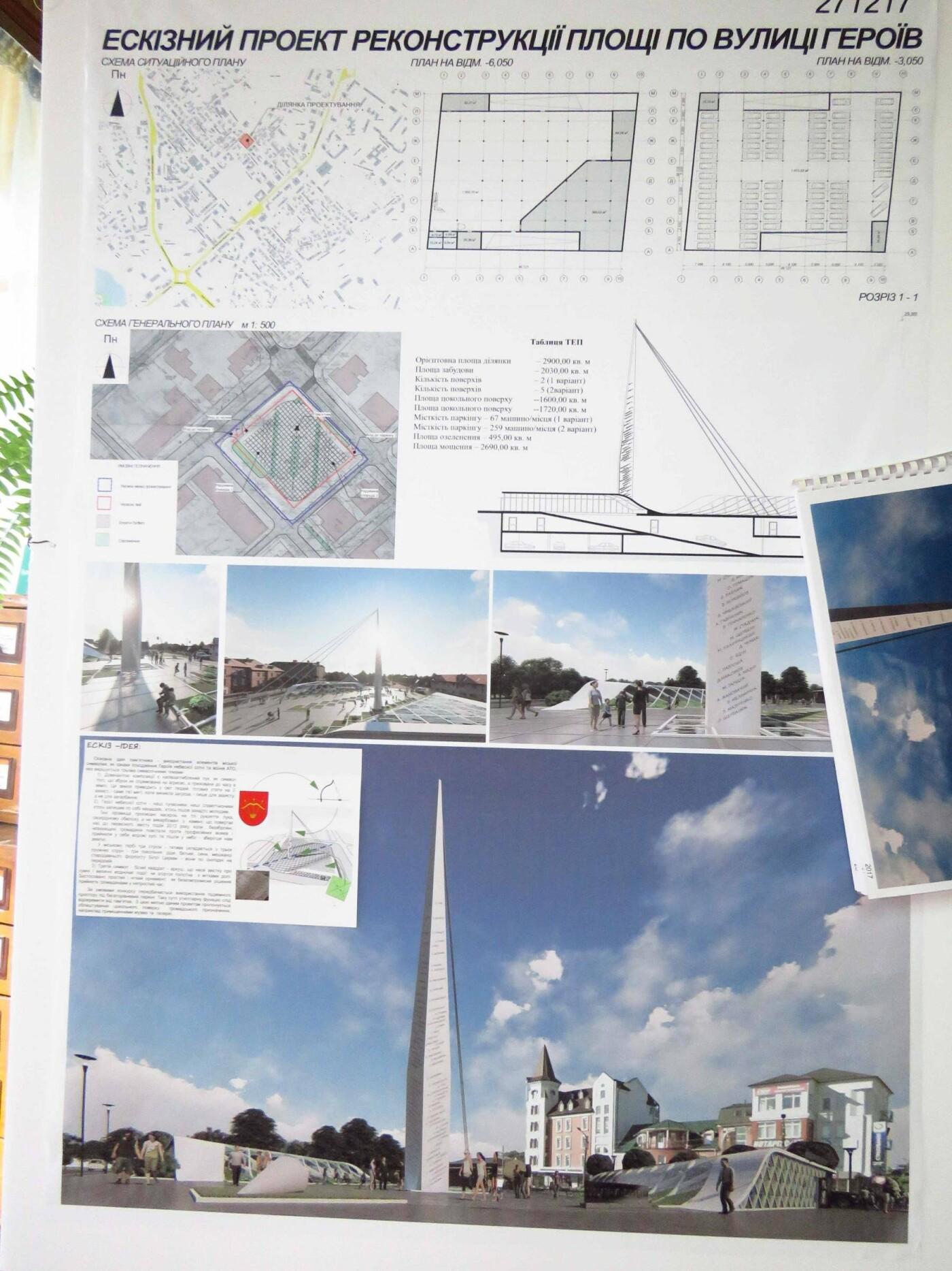 У Білій Церкві оголосили результати конкурсу проектів реконструкції площі на вул. Героїв Небесної Сотні , фото-1