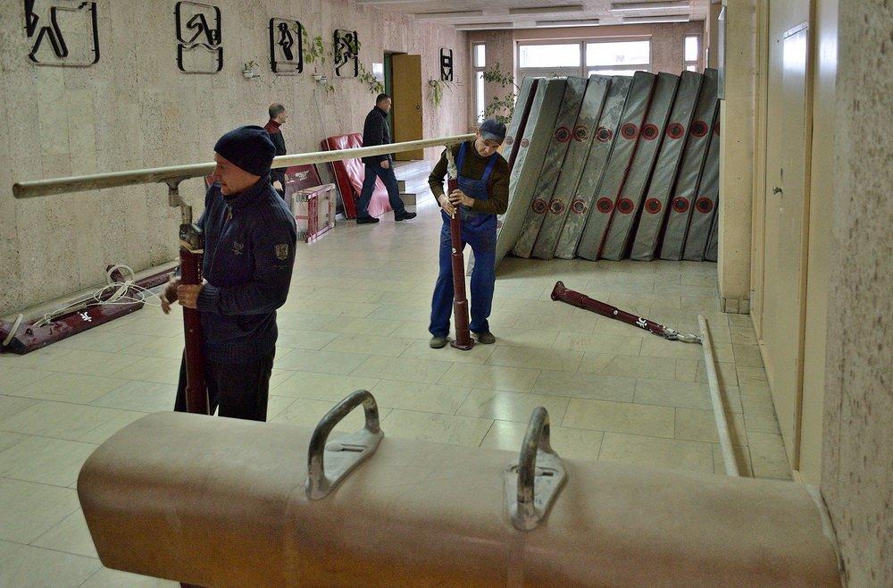 Білоцерківська спортивна школа отримала нове гімнастичне обладнання