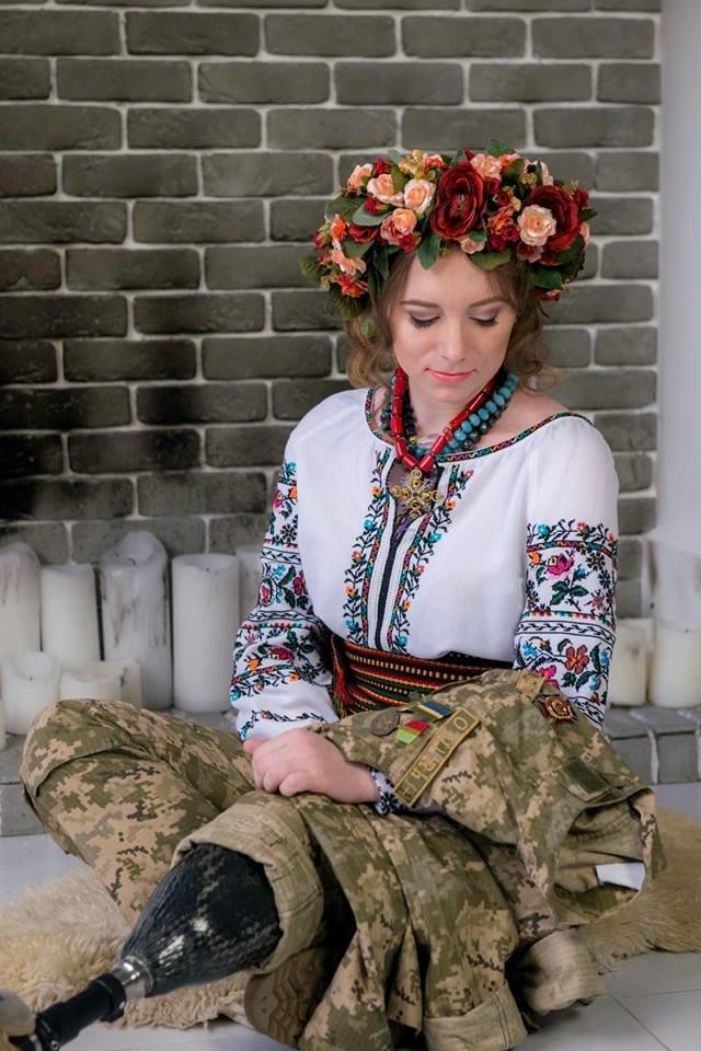 Ольгу Бенду, яка служила у 72-й ОМБр, визнали найкрасивішою українською жінкою-воїном