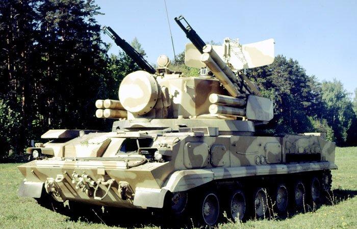 Зенітний гарматно-ракетний комплекс «Тунгуска»