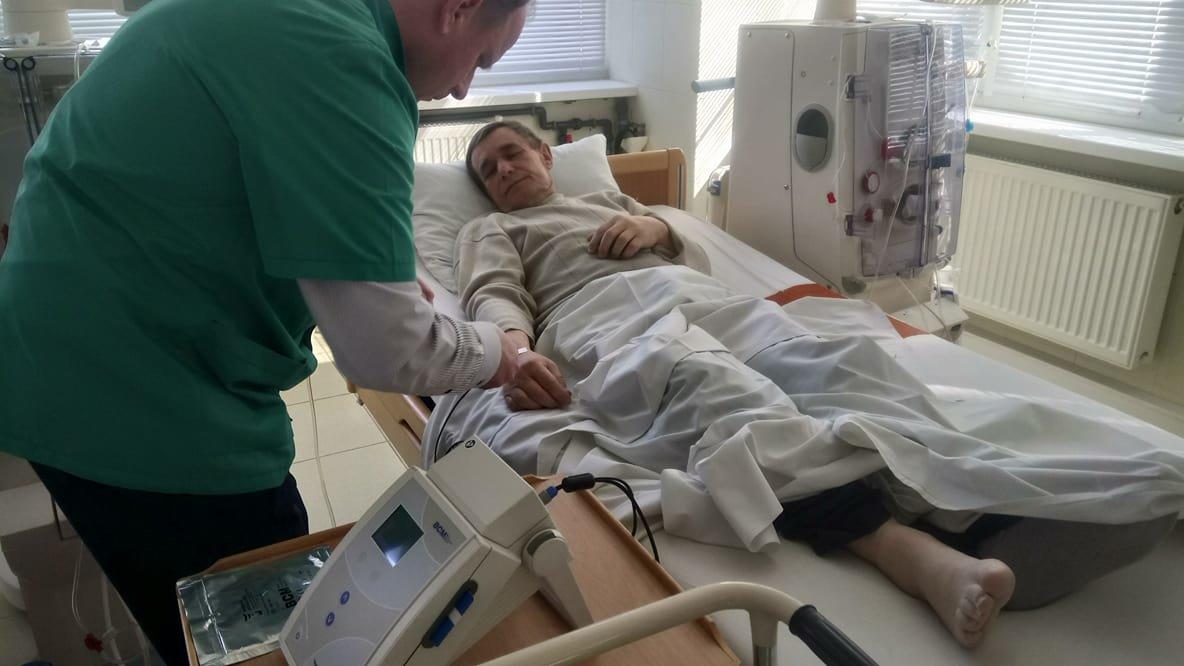 Білоцерківській міській лікарні №2 передали сучасний BCM-монітор складу тіла