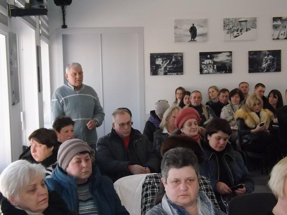 Нарада міського голови Геннадія Дикого з головами ОСББ та ЖБК міста
