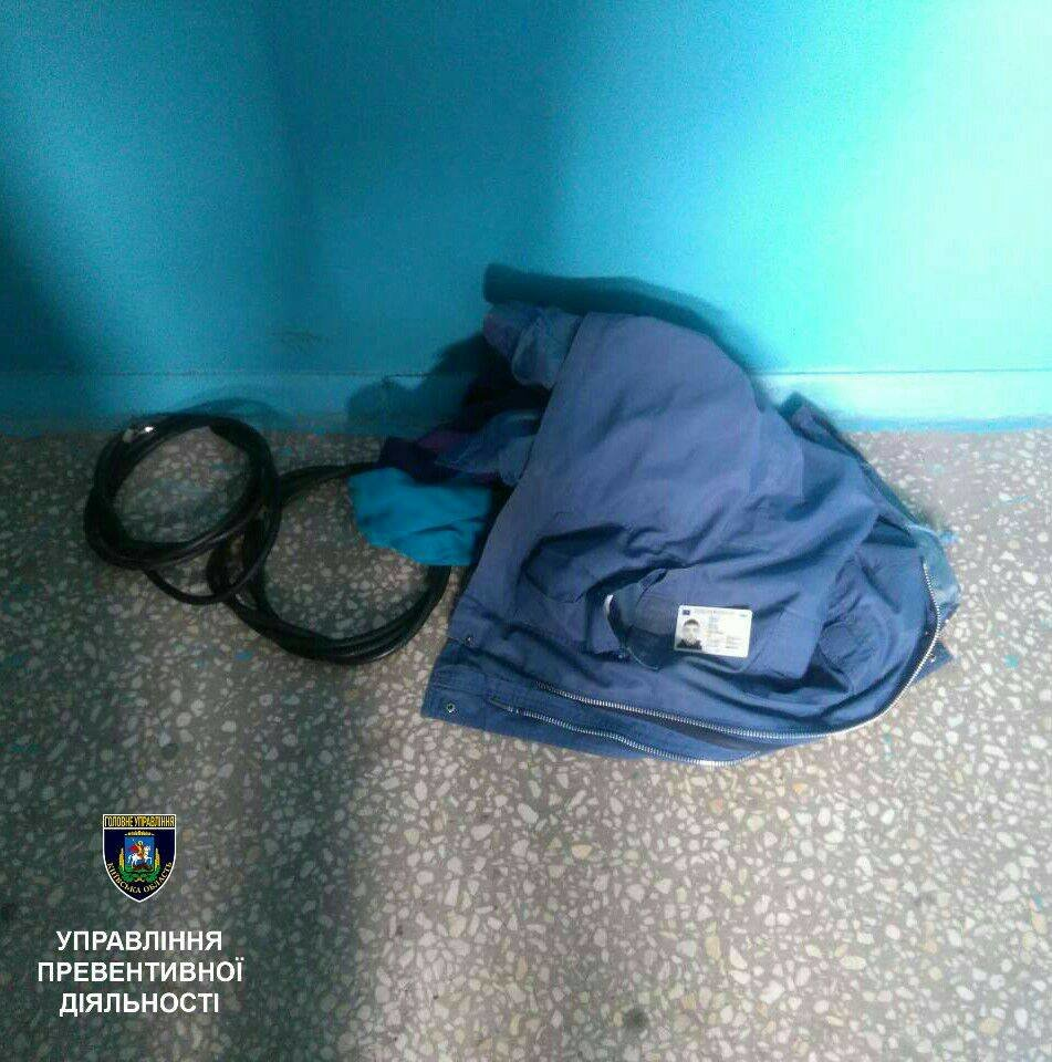 У Білій Церкві за крадіжку електропроводу затримали 19-річного хлопця, фото-2