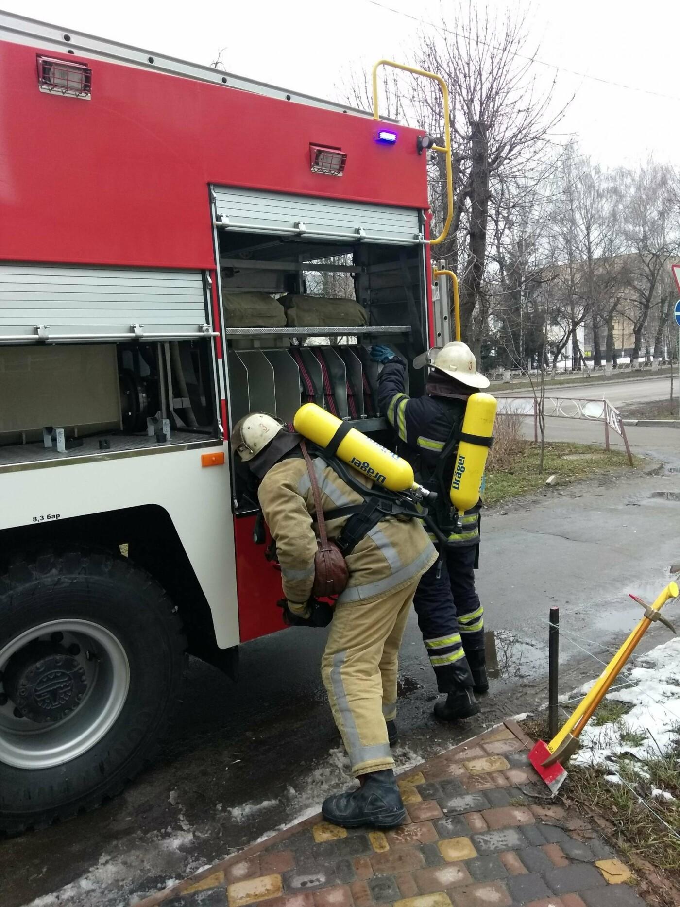 У Білій Церкві в ТЦ «Гермес» відбулися протипожежні навчання рятувальників
