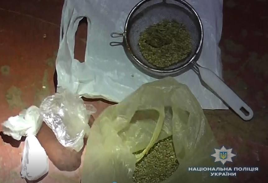 У жителя Білій Церкві поліцейські вилучили понад 9 кг канабісу.