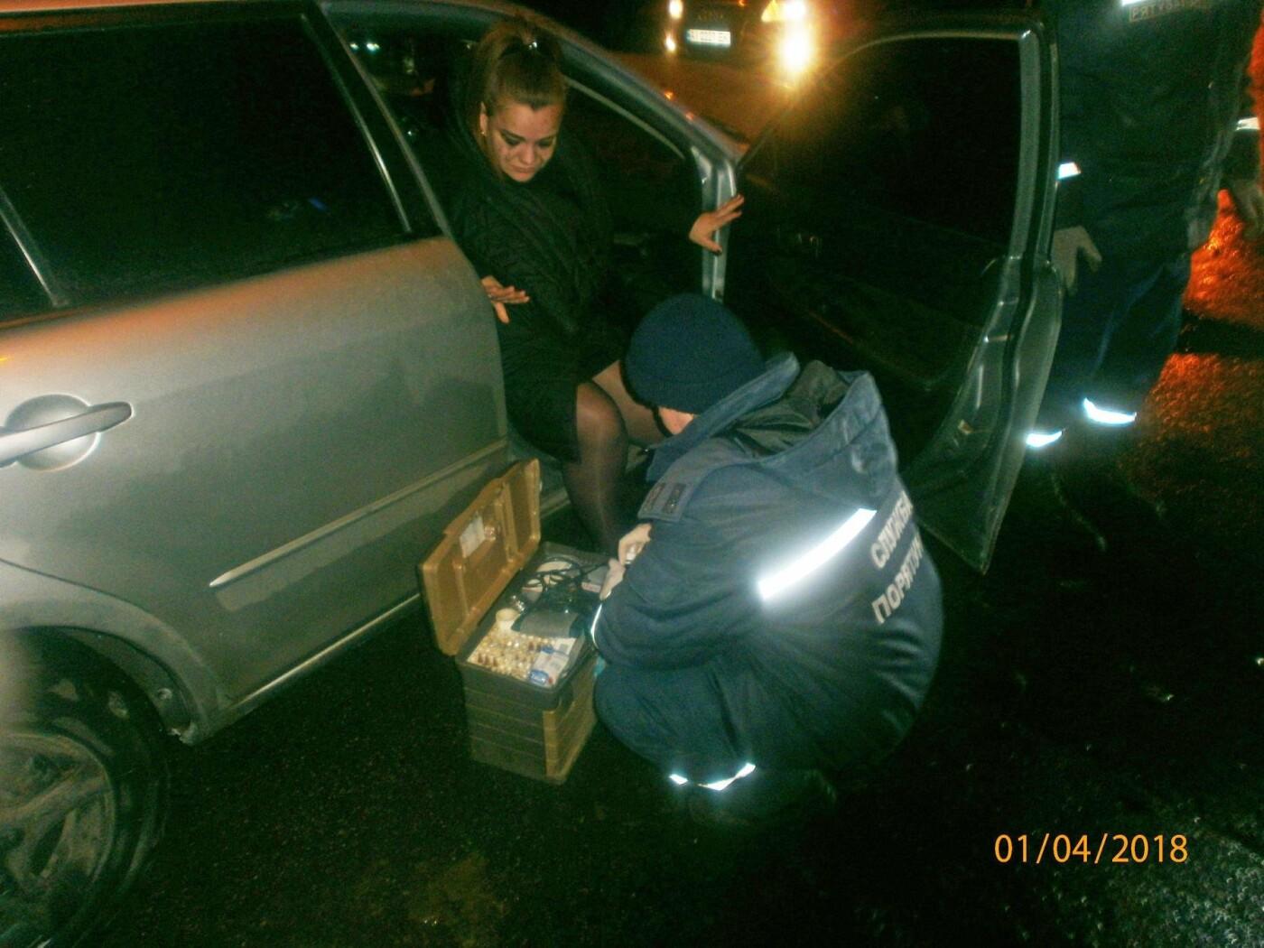 ДТП у Білій Церкві: рятувальникам довелося вирізати потерпілу з автівки , фото-1