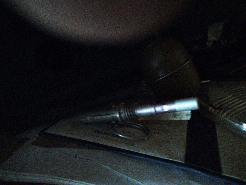 Житель Білої Церкви зберігав у гаражі бойову гранату