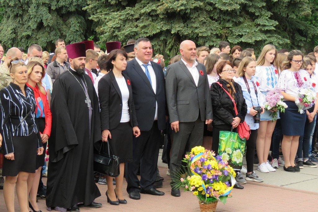 У Білій Церкві вшанували пам'ять усіх жертв Другої світової війни