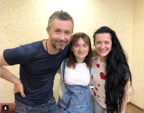 Сергій Бабкін завітав у гості до переможниці Голосу країни-8 Олени Луценко, фото-2