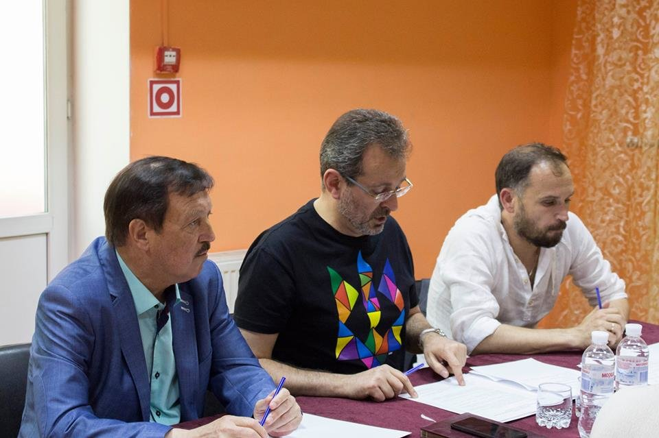 У театрі ім. Саксаганського відбулося зібрання Ради Національної спілки театральних діячів України