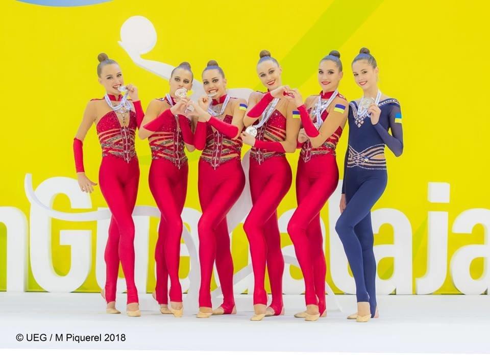 Білоцерківчанка виборола срібну медаль чемпіонату Європи з художньої гімнастики, фото-1