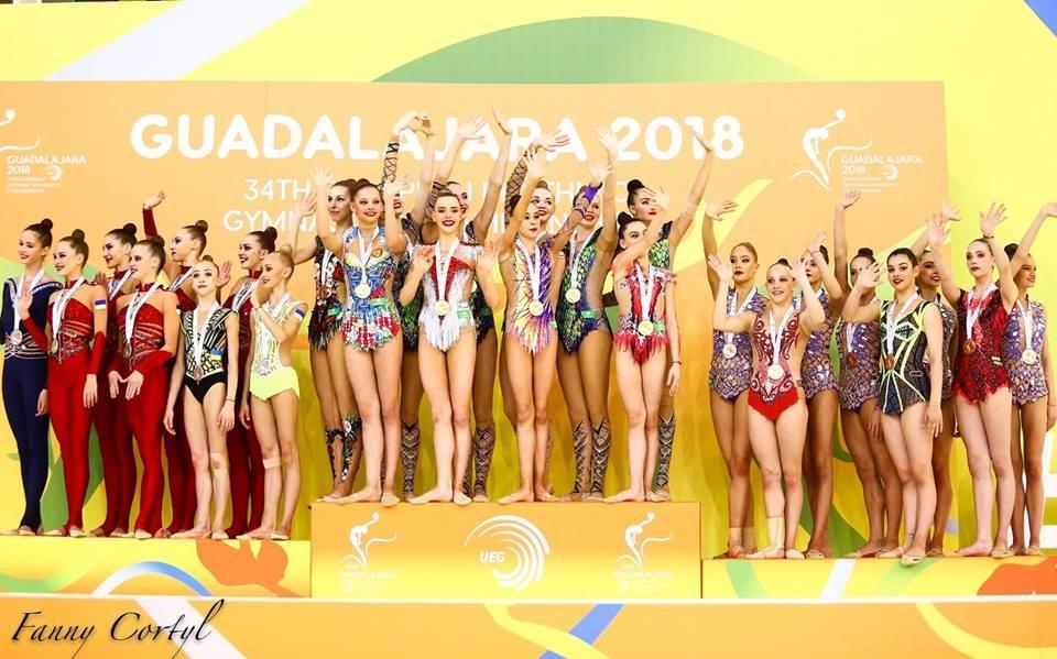Білоцерківчанка виборола срібну медаль чемпіонату Європи з художньої гімнастики, фото-2