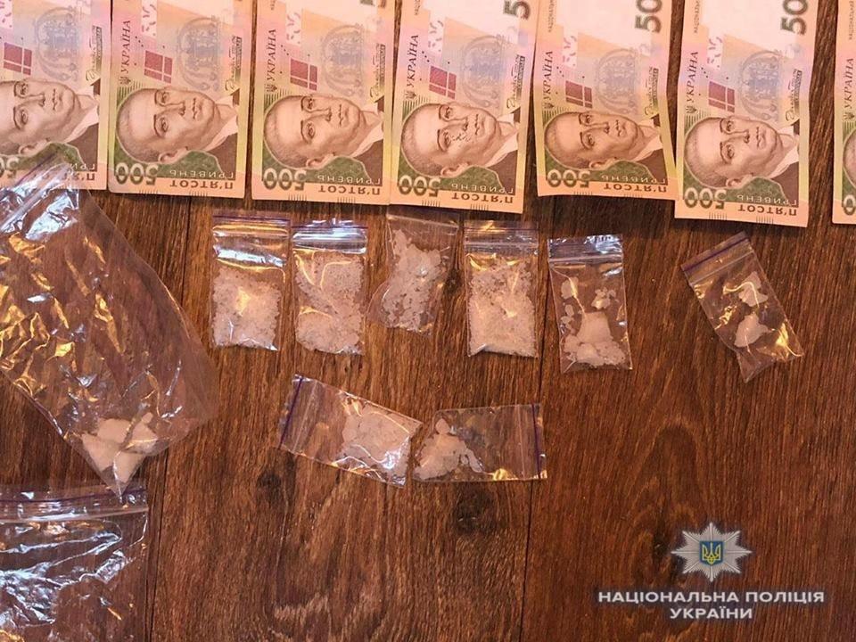 У Білій Церкві затримали озброєних гранатами наркодилерів