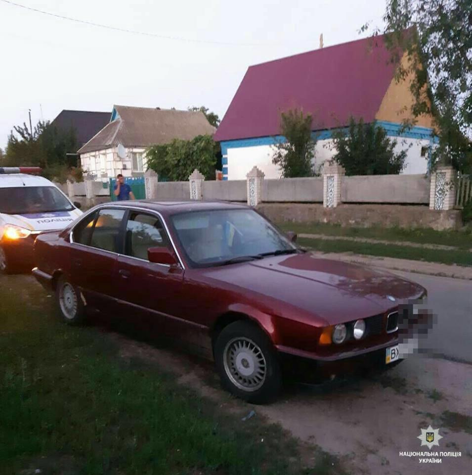 """На Білоцерківщині у 25-річного водія """"BMW-520"""" вилучили підроблені права"""
