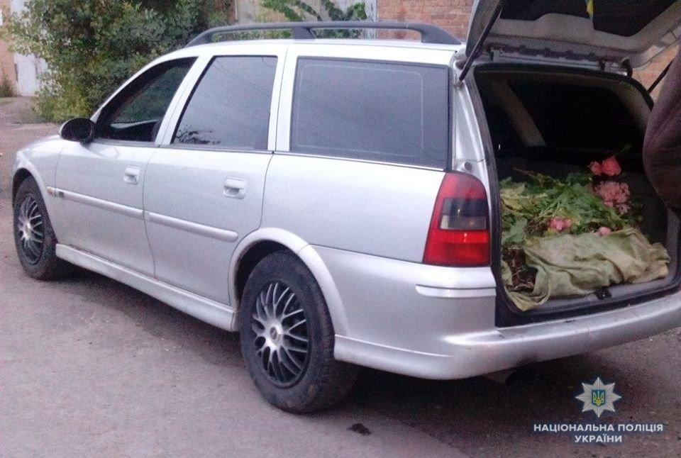 Білоцерківські поліцейські випадково зупинили авто з повним багажником наркотиків, фото-1