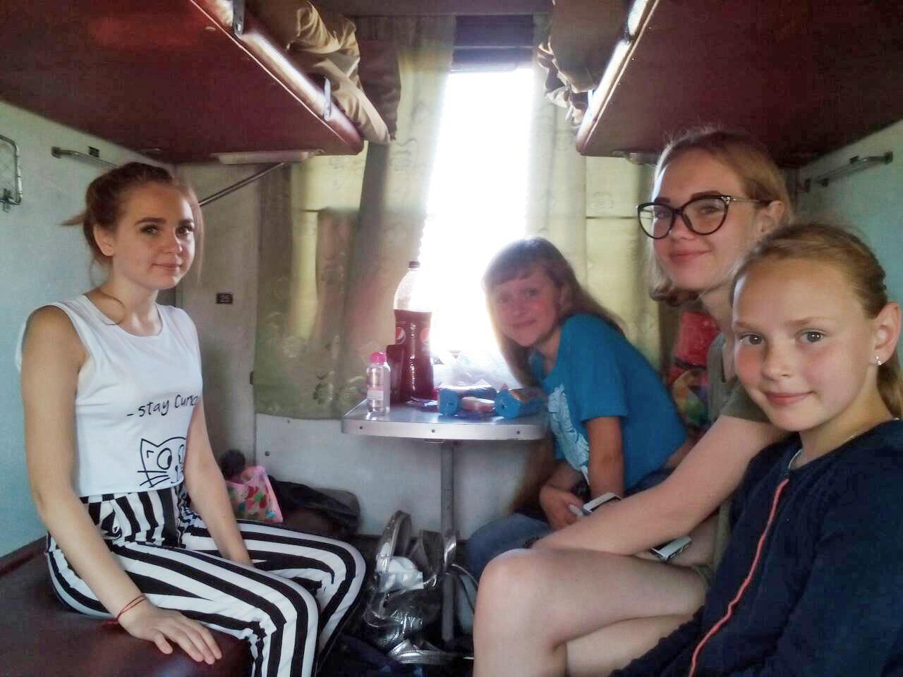 40 дітей учасників АТО відправилися на відпочинок до Херсонщини