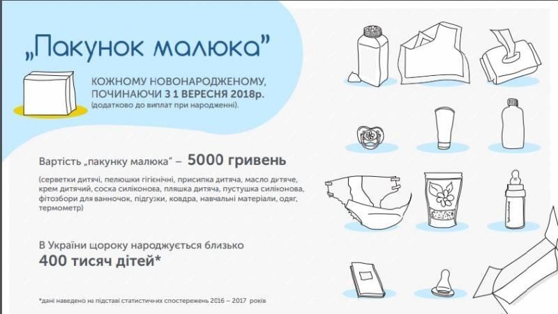 До уваги білоцерківців: з вересня батьки новонароджених отримуватимуть «пакунок малюка», фото-1
