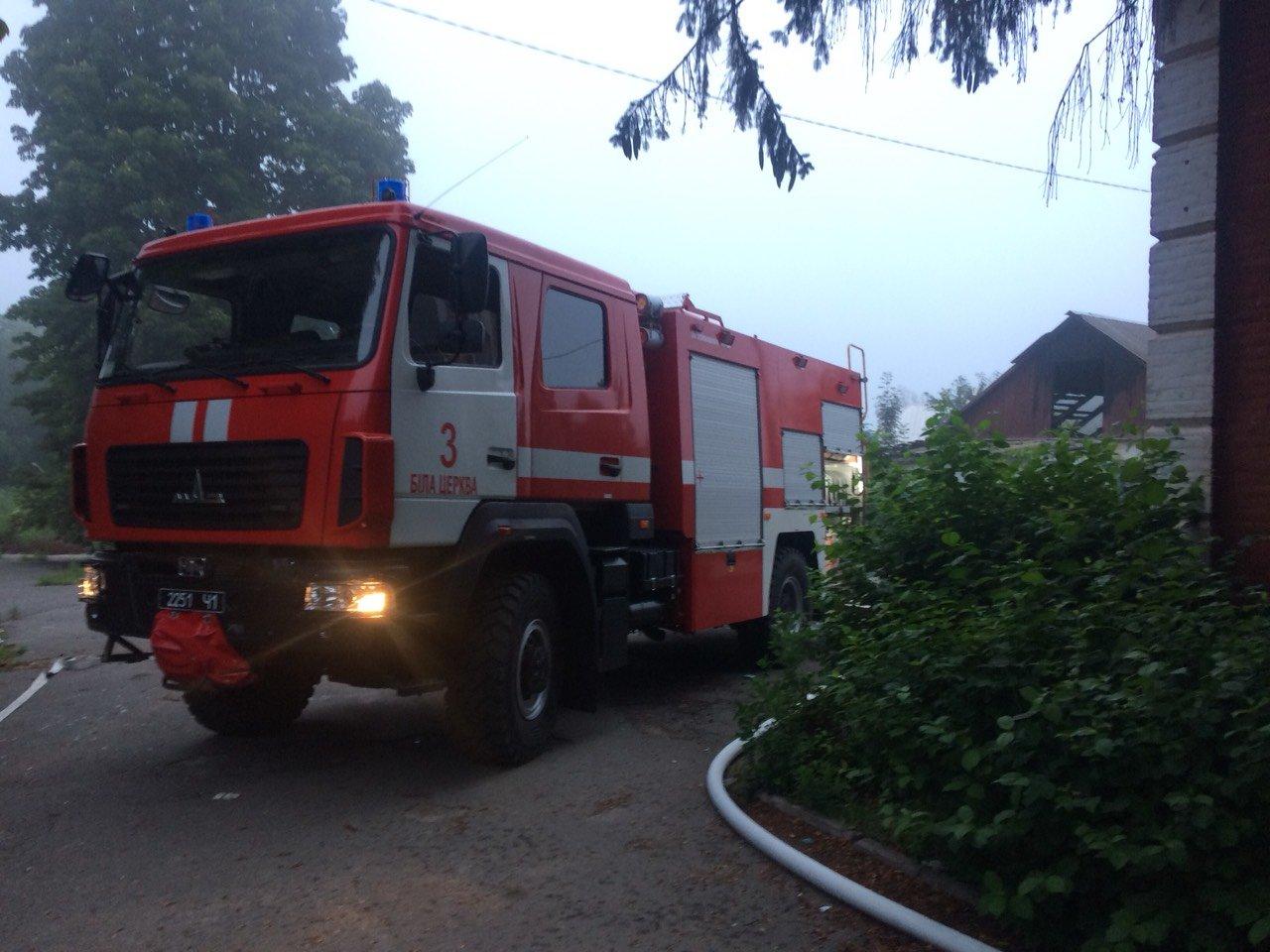 У Білій Церкві сталася пожежа у приміщенні старої школи №10