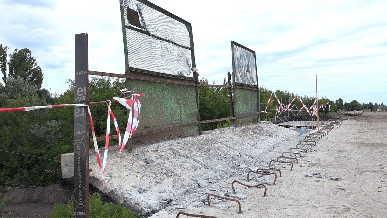 На якій стадії ремонт Горбатого мосту в Білій Церкві, фото-5