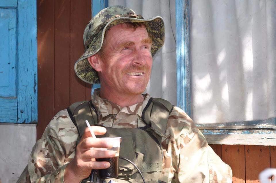 Старший прапорщик Іван Войтенко - командир саперного взводу 72 ОМБР