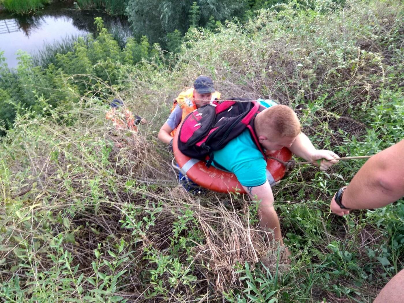 На вулиці Шевченка білоцерківські рятувальники витягли з яру чоловіка, фото-2