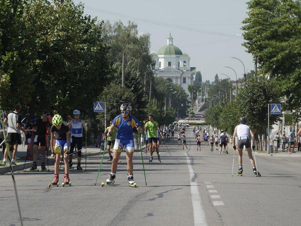Протягом двох днів у Білій Церкві проходили Всеукраїнські змагання з лижоролерів, фото-11