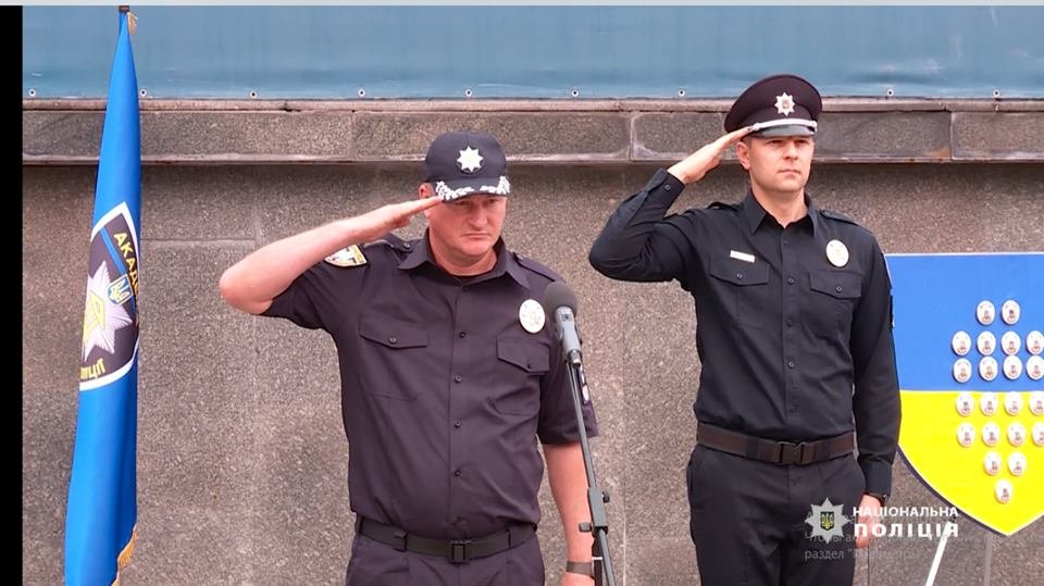 40 поліцейських-випускників патрулюватимуть дороги Білоцерківщини, фото-1