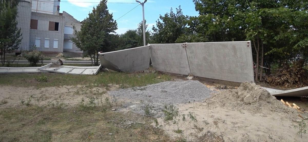 У Білій Церкві розгромили місце для будівництва першого в місті храму УГКЦ, фото-1