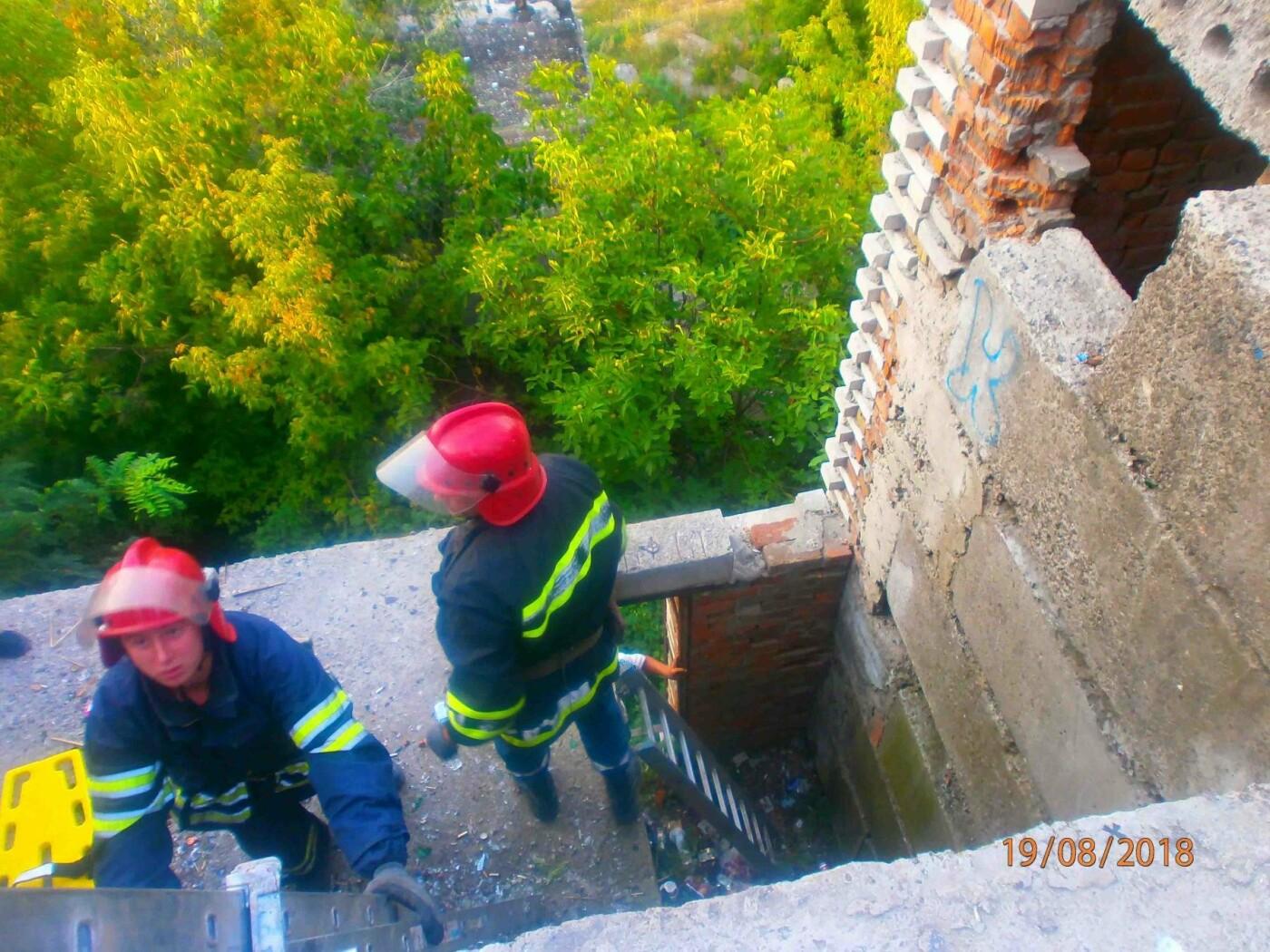 У Білій Церкві хлопець впав у п'ятиметрову яму, фото-2