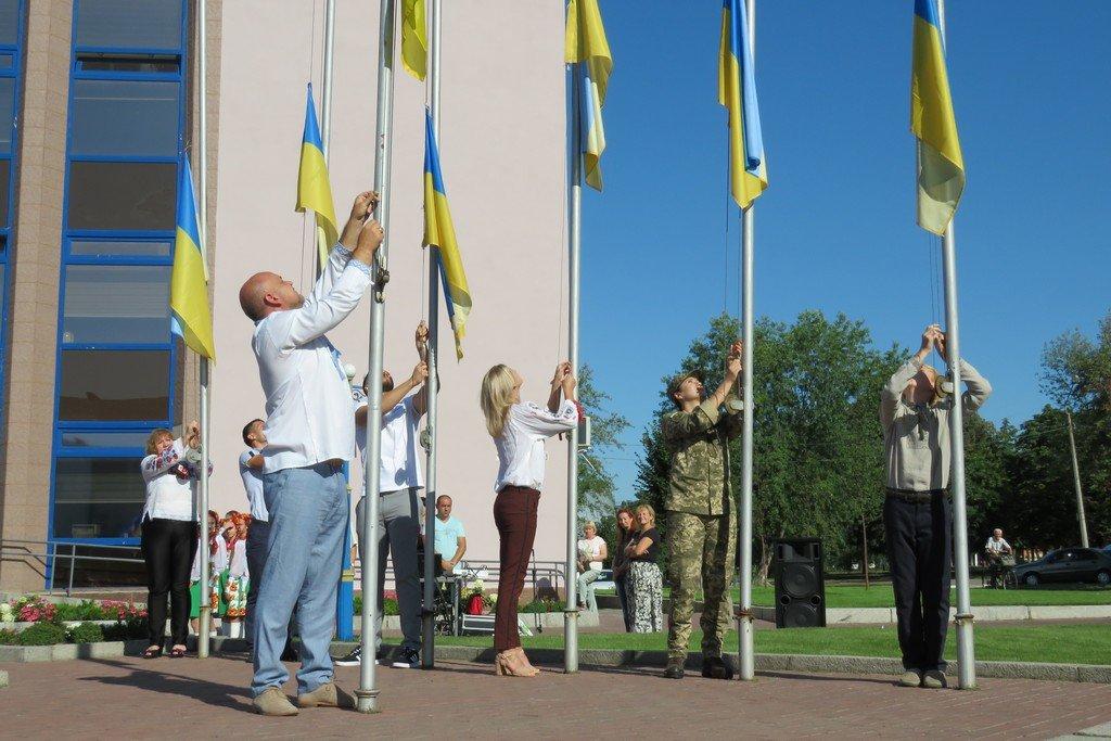Урочистості в Білій Церкві на честь Дня Державного Прапора України, фото-4