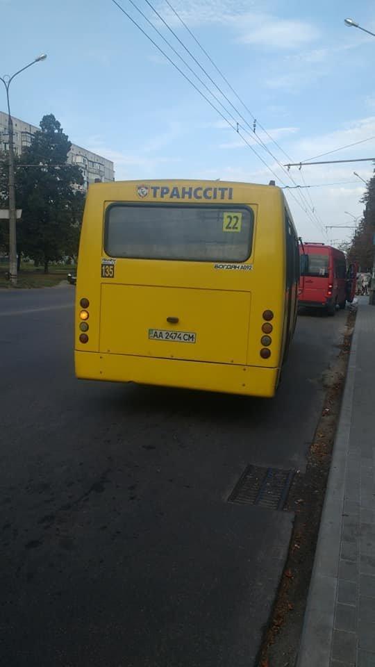 """Білоцерківці в шоці від """"майстер-класів"""" із водіння, які показують маршрутчики «Транссіті», фото-1"""