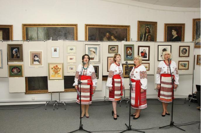 У Білій Церкві відкрилася персональна виставка київської майстрині Лідії Гончарук, фото-4