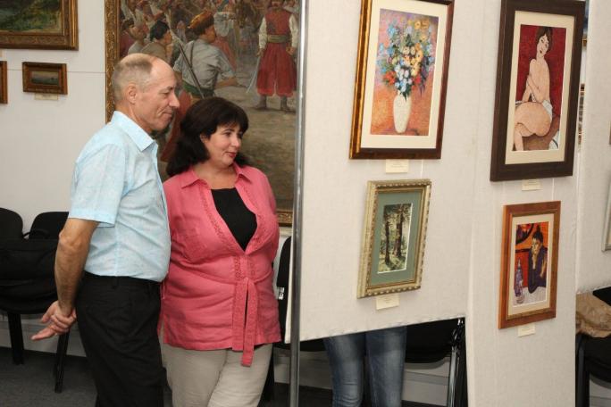 У Білій Церкві відкрилася персональна виставка київської майстрині Лідії Гончарук, фото-3