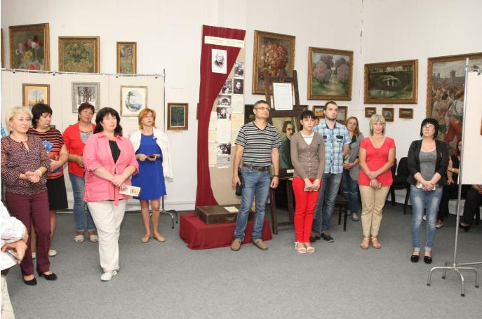 У Білій Церкві відкрилася персональна виставка київської майстрині Лідії Гончарук, фото-2