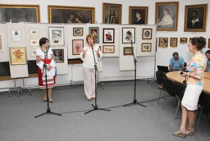 У Білій Церкві відкрилася персональна виставка київської майстрині Лідії Гончарук, фото-1