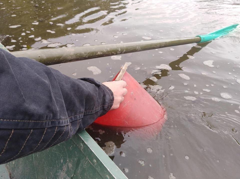 Річку Рось забруднюють фекаліями , фото-5