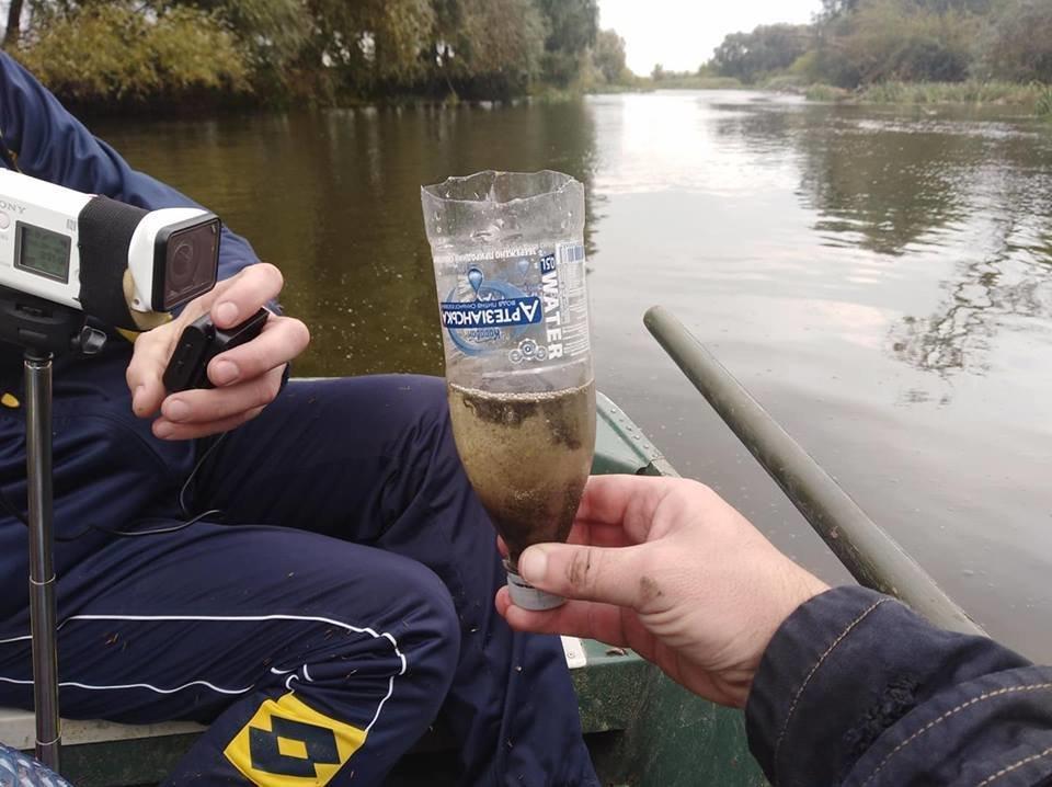 Річку Рось забруднюють фекаліями , фото-7