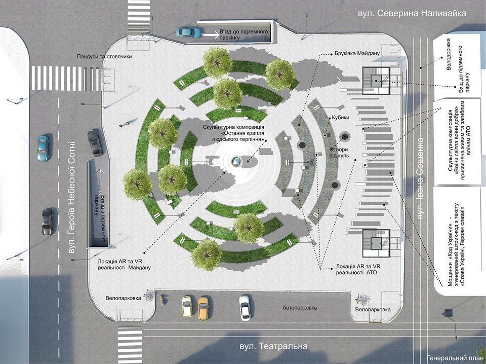 У Білій Церкві обрали кращий проект з реконструкції площі по вулиці Героїв Небесної Сотні , фото-4