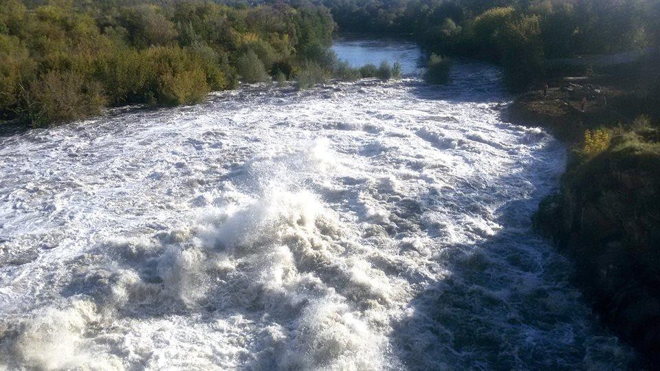 На Білоцерківщині розпочалася осіння промивка водосховищ на річці Рось  , фото-4