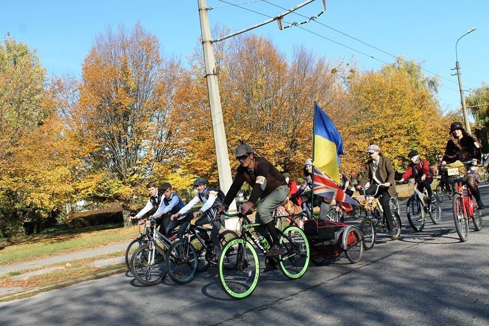 Tweed Run: У Білій Церкві вперше відбувся ретро-велопробіг у англійському стилі, фото-6