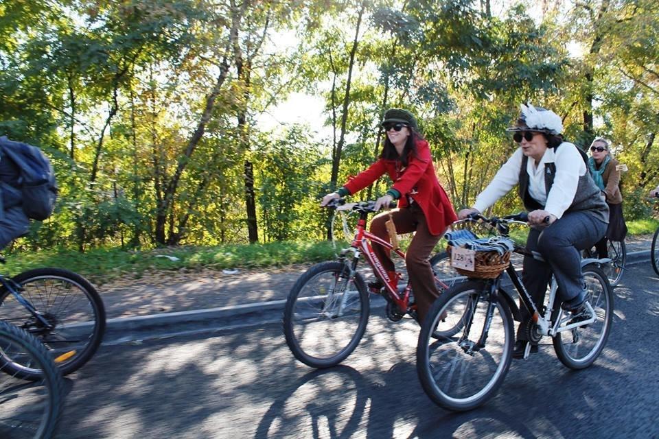 Tweed Run: У Білій Церкві вперше відбувся ретро-велопробіг у англійському стилі, фото-8