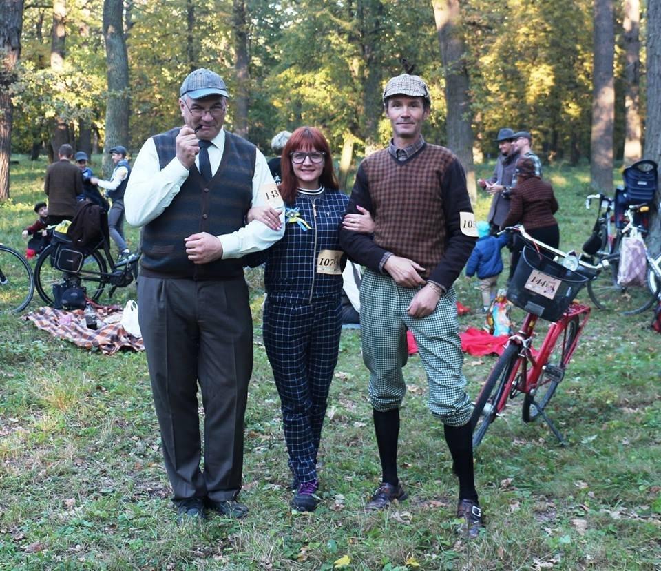 Tweed Run: У Білій Церкві вперше відбувся ретро-велопробіг у англійському стилі, фото-11